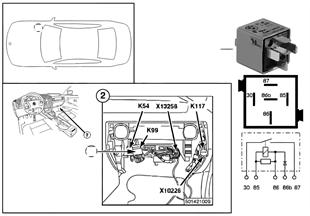 Relais dispositif de dégivrage AR K99