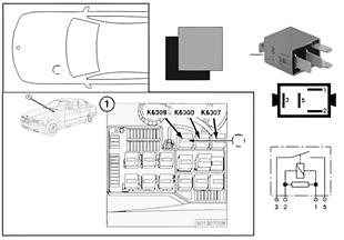 繼電器 氧傳感器 K6309