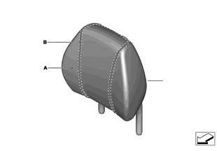Enc. cabeça Individual tras. pele