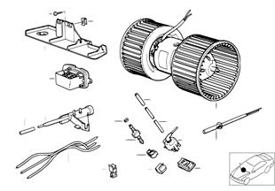 Peças eléctricas aparelho chaufagem