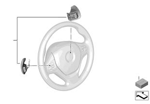 Schaltpaddles Sport-Automatik Getriebe