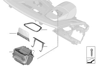 Zobrazení přístrojů na čelním skle