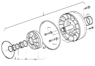A5s560z sistema lubricante