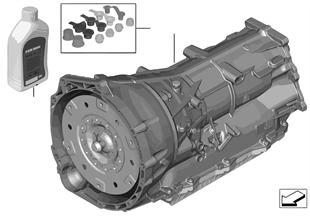 Cambio autom. GA8HP50Z — trazione int.