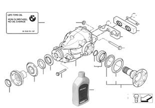 Final drive, input/output, 4-wheel