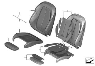 시트, 앞, 쿠션 및 스포츠 시트 커버