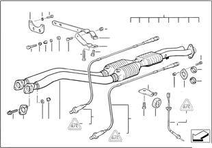 Catalisador/sonda lambda