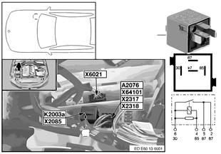 Vehicle electrical system | BMW 5' E61 LCI 535d M57N2 Europe