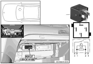 Relé electroventilador K9137