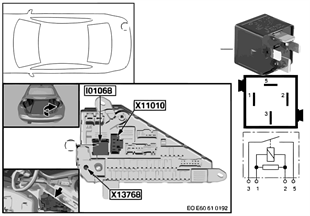 繼電器 總線端 Kl. 30 I01068