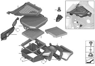 Microfiltro/peças do corpo