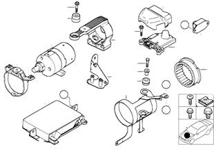 Regelapparaat/Sensors DSC/Voorlaadpomp