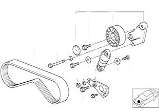 A/C コンプレッサー用ベルト
