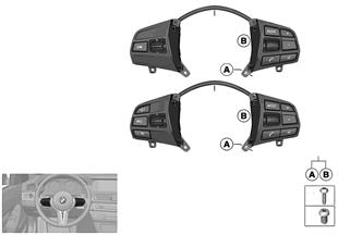 開關 方向盤 多功能 M Sport