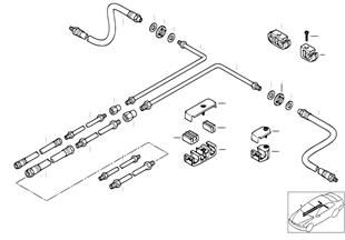 R ASC/DSC ブレーキ ライン