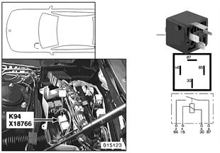 Relais motor K94
