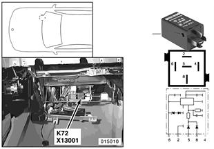 Relé odpojení spotřebičů K72