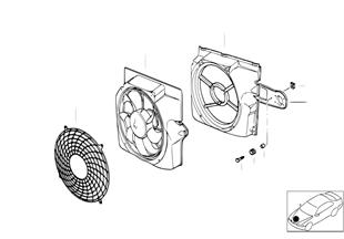Wentylator ciśnieniowy i elementy dod.