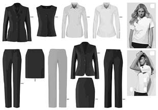 BMW Business Apparel 2014 — Women