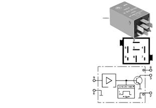 Relais Thermoschaltgerät