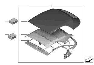 Skládací střecha