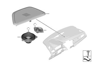 Lautsprecher Instrumententafel