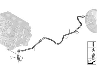Unterdruckleitung Bremskraftverstärker