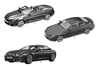 BMW Miniatures — BMW 6-Series 14/16