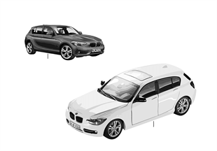 BMW Miniaturen — BMW 1er Serie 14/16