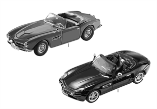 BMW Miniatures — BMW Z8 and 507 Convert.