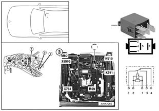 릴레이, 차단기, 동반자석-높이조절, K910
