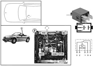 릴레이, 차단기, 운전자석-높이조절, K920