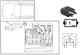 Röle, lambda sondası K5029