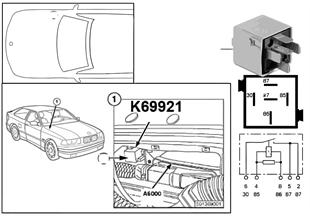 Relais CNG K69921