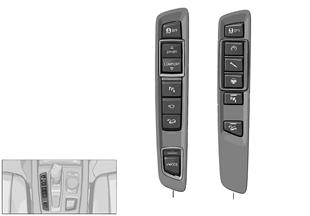 Elemento de mando consola central