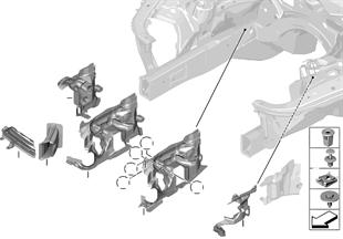 Anbauteile Motorraum