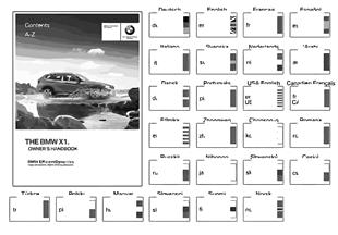 หนังสือคู่มือเจ้าของรถ E84 ไม่มี iDrive