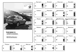 หนังสือคู่มือเจ้าของรถ E84 ที่มี iDrive