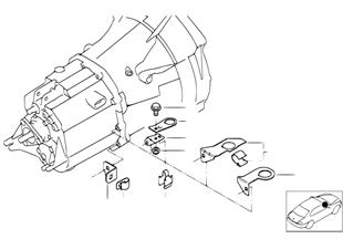 Piezas del cambio — soporte sonda lambda
