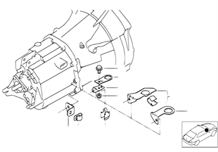 Gearbox parts — oxygen sensor holder