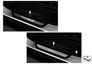 Listwy progowe BMW LED