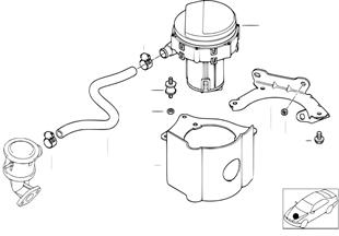 Egzoz gazı-Azaltma-Hava pompası