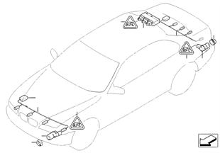 Parkovací zařízení (PDC)