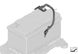 Batteriekabel minus IBS