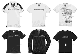 BMW Motorsport — Men's Shirts 2015/17