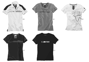BMW Motorsport — Ladies' Shirts 2015/17