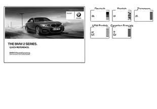 Краткое руководство F22 с iDrive