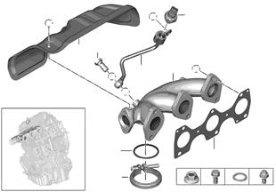 배기다기관-EGR 장치