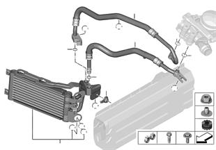 引擎機油冷卻器/機油冷卻器管路