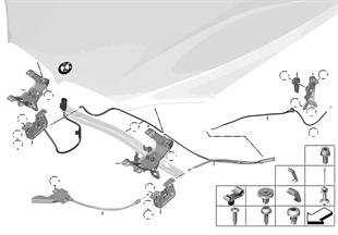 エンジン フード/ロック システム